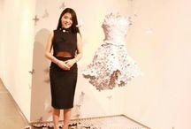 Fashion Sculpture/Fashion Sculpture/Paper Work/Paper Art