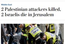 The Press? Antisemitic? Naaa / The horrible ways the global press reports Palestinian terrorism.  / by Hillel Fuld