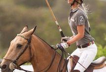 Polo riding