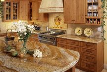 Golden-Brown Kitchens