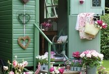 shabby chic garden / by Kim Cook