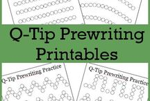 Preschool Cutting and Writing Skills / Games and ideas for fine motor activites with preschoolers in speech therapy