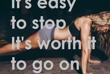 Fight for it / Fitspo for thought ;) Motivation and clean food recipes