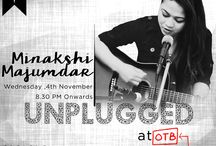 Unplugged Sessions by Minakshi Majumdar / A wonderful session of some Unplugged Commercial Bollywood music with Minakshi Majumdar at Cafe Out of the Box!