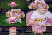Cake smash sessions - by Nicole Vega