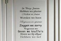 Spreuken Voor aan de muur