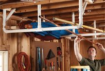 Garage ideas / Storage ideas and more for the garage