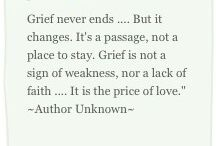 Grief and losing a loved one