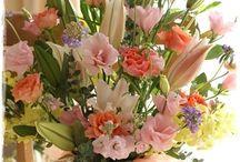 【お見舞いのお花】生花ギフト / Flower noteの生花アレンジ お見舞いのご用途で製作したアレンジギャラリーです。