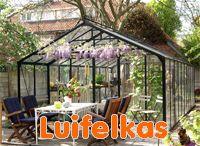 8. Luifelkassen - Batist hobbykassen / Zelf kweken of lekker recreëeren in uw tuin. Kijk ook op www.batisthobbykassen.nl voor meer informatie. 0174-290727.