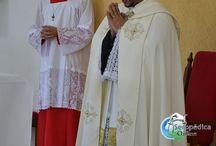 Paroquia Maria Mãe da Igreja faz Procissão e Missa no dia de Corpos Christi