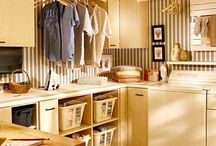 Storage / Laundry and home storage ideas