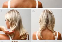 simple hair styling