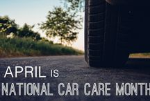 April is #NationalCarCareMonth! / The Car Care Council supports two months each year to bring attention to the importance of car care and preventative maintenance. These months are National Car Care Month in April and Fall Car Care Month in October. http://www.carcare.org/car-care-month/
