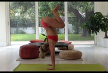 // teeki ⍈ how to yoga // / helpful tips from heart, head to toe