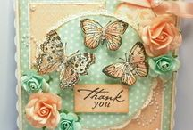 Cards using inkylicious stamps