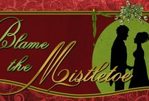 """Book: Blame the Mistletoe / Photos that have inspired parts of the story in the book """"Blame the Mistletoe"""", by Sarah Johnson."""
