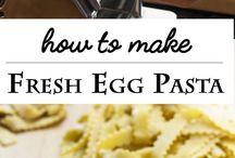 Pasta Dough Recipes
