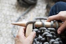 Knitting chunky