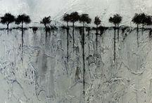 Kunst landschap