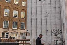 Art urbain / Créativité dans nos rues, sur nos murs, avec le mobilier des villes.