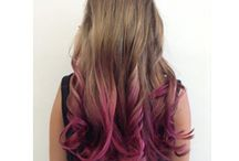 PINK HAIR FOR BREAST CANCER AWARENESS