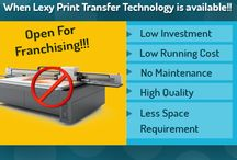 Technology Opportunity / Own the innovative printing technology to print on Tiles, Granite, Marble, Glass, Wood & Gypsum Board