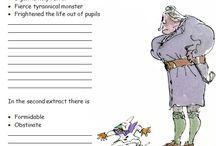 Matilda etc, Roald Dahl, litteraturuka