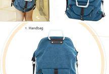 Jean school bag