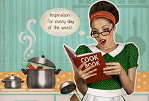 Inspiration for every day of the week: Juli / Sun, drinks, shopping and hopping from one terrace to another and when you come home you realize you have to start cooking… No problem at all! With these recipes you are full of inspiration! (including shopping list). Cook-away & Enjoy it!