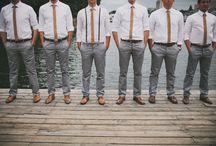 Casual Groomsmen & Bridesmaids