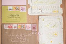 Invitations + Stationary