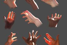 Art Anatomy Hands