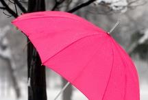 Deštníky a paraplíčka