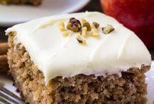 Apple pudding/cake