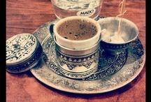kahve, çay, fincan, vs.
