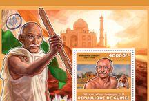 New stamps issue released by STAMPERIJA | No. 363 / GUINEE, REPUBLIQUE DE 23 12 2013 Code: GU13601a-GU13612b