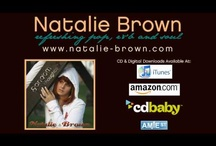 Natalie Brown Songs (that's me!) / My music! Re-pin, share, love, plus, like, tweet... whatever yo do, just share it :)