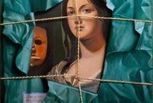 """huiles sur toile / Huiles sur toile de Daniel Solnon, peintre en trompe-l'oeil, membre du mouvement """"trompe-l'oeil et réalité"""""""