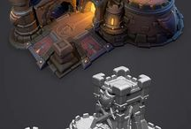 Game 3D Environment