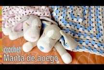 Видео вязки игрушек одеял