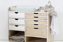 Organizador de ropa bebe
