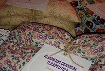 almohadas terapéuticas de semillas