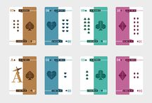 Playing Card Crushes / Oh what a treat playing cards can be! There is so much artistry, so much detail that goes into constructing a pack of perfect playing cards. These are some of our favorites, from artists and creators that make us go WOW and that inspire us to keep thinking up new ways to make our own cards more engaging, interesting and fun.