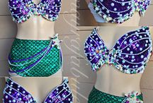 www.mayrafabuleux.com / Rave Bras, Rave Outfits, Rave Wear, Dance Costumes, Theme Wear all Handmade and Designed By Mayrafabuleux