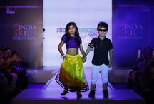 India Kids Fashion Show - Runway / India Kids Fashion Show (IKFS) is one of India's prestigious and exclusive kids show. It personifies the style in innocence, the kids' models walk briskly down the runway exhibiting products, exuding their charm and radiance. IKFS is an international platform for the designers, talents and kids brands which set forth new global fashion trends in kids fashion industry.