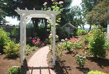 Picket fences/ Gates and Pergoda