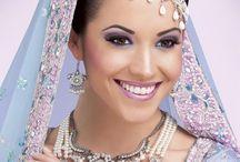 Asian Bride make up and hair