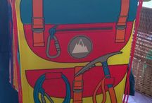 Tote Bags / Just in fun colourful Tote Bags