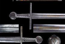 Опознанные мечи романского типа